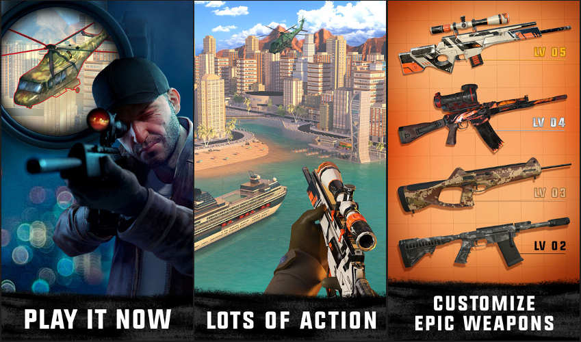 Sniper 3D Cheats, Game Guide & Tips - Everything You Need To